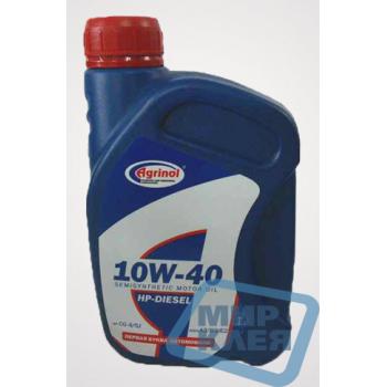 Масло моторное 1л. 10w-40 HP-DIESEL CG-4/SJ Agrinol (Агринол)