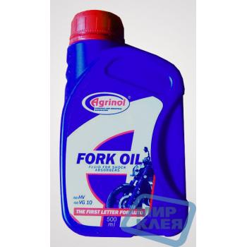 Жидкость для амортизаторов FORK OIL 0,5л Агринол (Agrinol)
