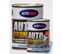 Автотрейд мастика 1л. битумно-каучуковая бронза Autotrade BRONZO