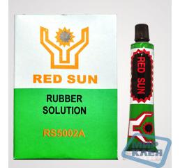 Клей для велосипедных латок RED SUN (12шт)  (Цена за пачку. В пачке 12 тюбиков по 12г.)