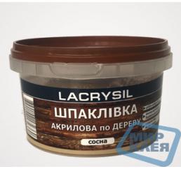 (Сосна) Шпатлевка акриловая по дереву Лакрисил (Lacrysil) 0,35 кг