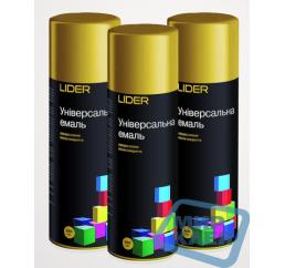 (Темное золото) Краска аэрозольная Лидер (LIDER) 400 мл.