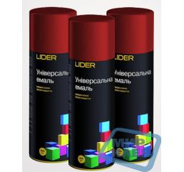 (Темно - красная) Краска аэрозольная Лидер (LIDER) 400 мл.