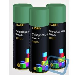 (Темно - зеленая) Краска аэрозольная Лидер (LIDER) 400 мл.