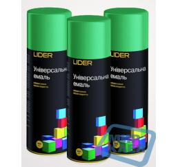 (Зеленая) Краска аэрозольная Лидер (LIDER) 400 мл.