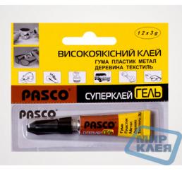 Супер клей Паско 3г гель (Pasco)