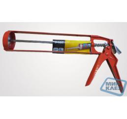Пистолет метал. для герметиков S-107 (скелет эконом) Акфикс (Турция)