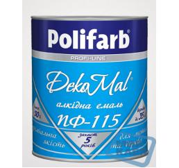 (Коричнево - шоколадная) DekoMal ПФ-115 (ДекоМаль) 2,7 кг