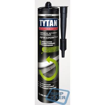 Титан герметик битумный для кровли 310мл. черный (TYTAN)